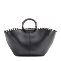The Row Market Leather Shopper