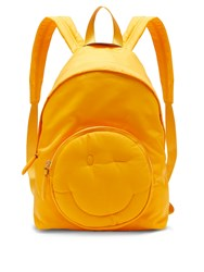 Anya Hindmarch Chubby Wink Nylon Backpack Yellow