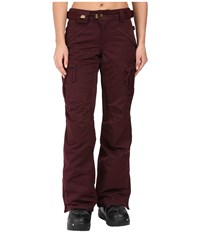 686 Authentic Smarty Cargo Pant Black Ruby Women's Outerwear