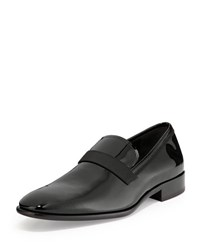 Salvatore Ferragamo Antoane Patent Loafer Black