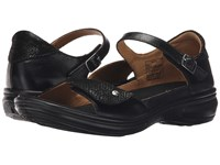 Revere Bali Black Lizard Women's Flat Shoes
