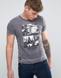 Pepe Jeans Forster London Slim Fit T Shirt Grey Marl