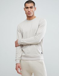Only And Sons Crew Neck Sweat Feather Grey