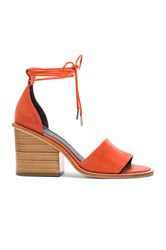 Tibi Clark Heel Burnt Orange