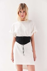 Urban Outfitters Coco Corset Belt Black