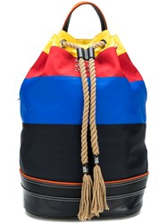J.W.Anderson Jw Anderson Striped Sailor Backpack Multicolour