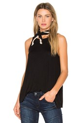 Rvca Label Tunic Tank Black