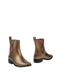Vivienne Westwood Anglomania Melissa Footwear Ankle Boots Women