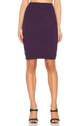 Susana Monaco Pencil Skirt Purple