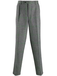 Lc23 Houndstooth Trousers Grey