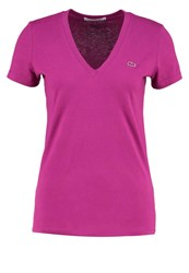 Lacoste Basic Tshirt Pourpre Purple