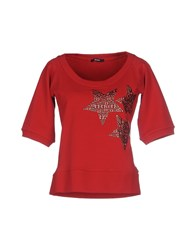 Relish Topwear Sweatshirts Women Red