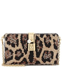 Dolce And Gabbana Box Embellished Clutch Multicoloured