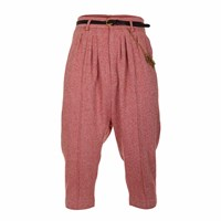 Jiri Kalfar Baggy High Waisted Trousers Pink Purple