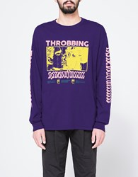 Brain Dead X Need Supply Co. Throbbing Ls Tee Purple