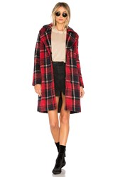 Cupcakes And Cashmere Allon Coat Red