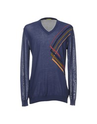 Private Lives Sweaters Dark Blue