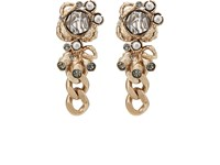Koche Embellished Drop Earrings Pink