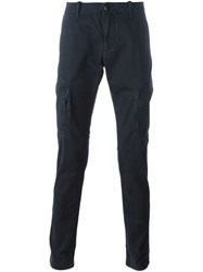 Stone Island Cargo Pocket Trousers Blue