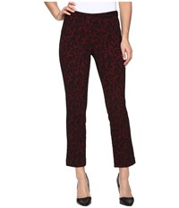 Michael Michael Kors Umbria Cigarette Crop Cinnabar Women's Clothing Red