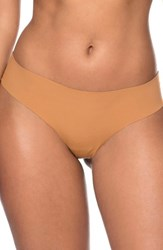 Nubian Skin Naked Perfect Thong Caf Au Lait