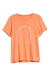 Ban.Do Ban. Do Permanent Vacation Classic Tee Apricot