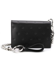 Givenchy Embossed Cross Wallet Black