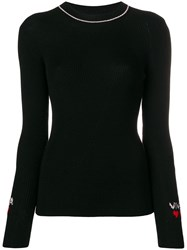 Vivetta Knitted Top Black