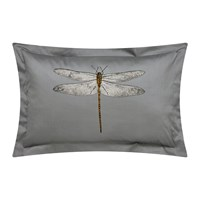 Harlequin Demoiselle Graphite Oxford Pillowcase Print