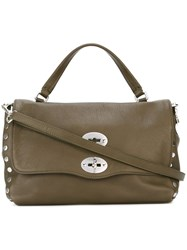 Zanellato Medium 'Postina' Satchel Green