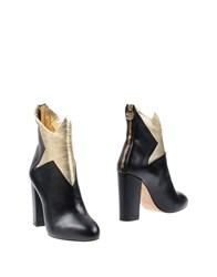 Charlotte Olympia Ankle Boots Black