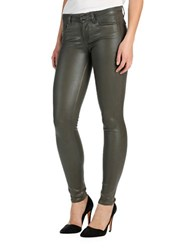 Paige Verdugo Five Pocket Style Pants Army Luxe