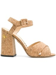 Charlotte Olympia Emma Sandals Nude And Neutrals
