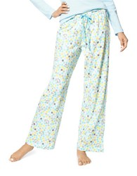 Hue Dotted Pallet Pajama Pants White