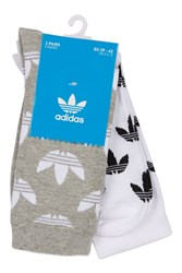 Topshop Thin Crew Socks Multipack By Adidas Originals Multi