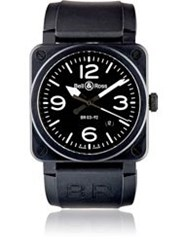 Bell And Ross Br 123 Original Commando Watch Grey