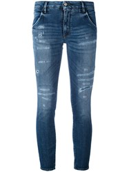 Cycle Skinny Jeans Women Cotton Polyurethane 25 Blue