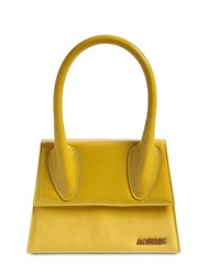 Jacquemus Le Grand Degrade Suede Leather Bag Shade Yellow