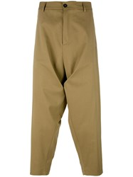 Societe Anonyme Sauvage Summer Trousers Brown