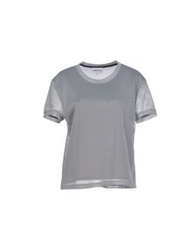 American Retro T Shirts Grey