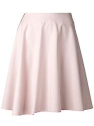 Brunello Cucinelli Stretch Swing Skirt Pink And Purple