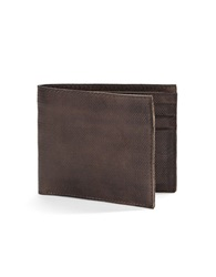John Varvatos U.S.A. Slim Leather Billfold Wallet Black