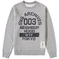 Svg Archives By Neighborhood 003 Crew Sweat Grey