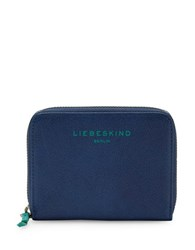 Liebeskind Conny F7 Grain Leather Wallet Night Blue