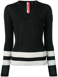 Rossignol Stripe Detail Jumper Black