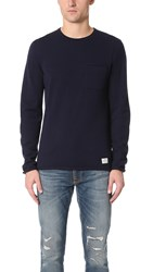 Penfield Alson Crew Sweater Navy