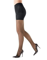 Spanx Fishnet Tights Black