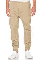 G Star Bronson Zip Tapered Cuffed Pant Beige