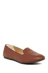Abound Kiley Woven Smoking Slipper Brown