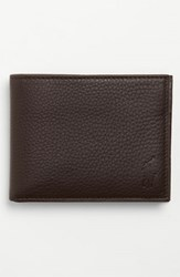 Polo Ralph Lauren Men's Leather Passcase Wallet